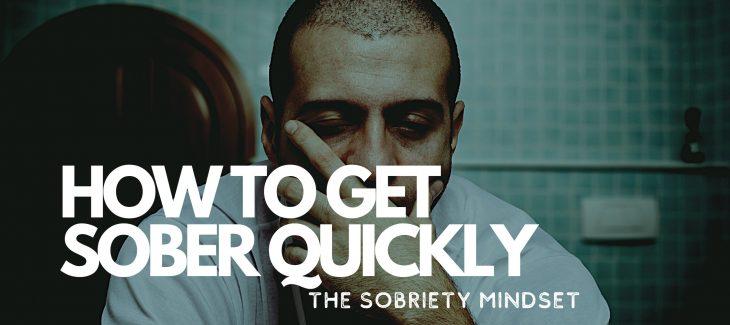 how to get sober