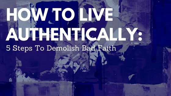 how to live authentically