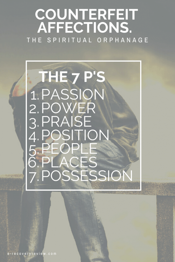 the 7 p's of counter affections Christians And Addiction