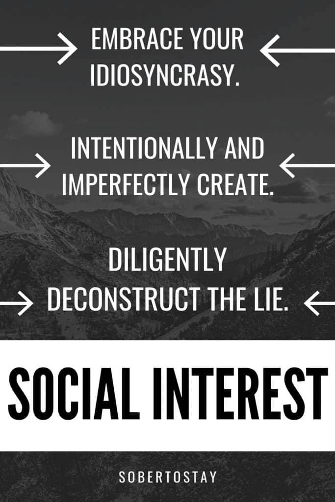 SOCIAL INTEREST 1 social interest
