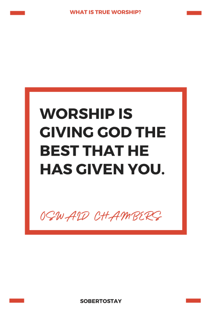 what is true worship 1 what is true worship?