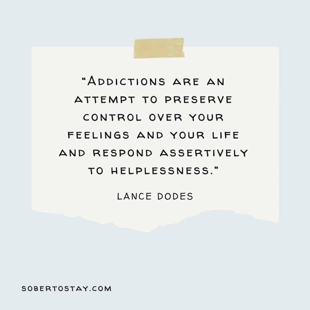 porn addiction books Lance Dodes Quote