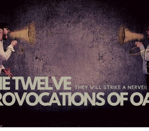 the 12 provocations