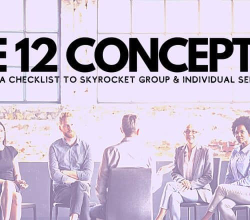 aa 12 concepts