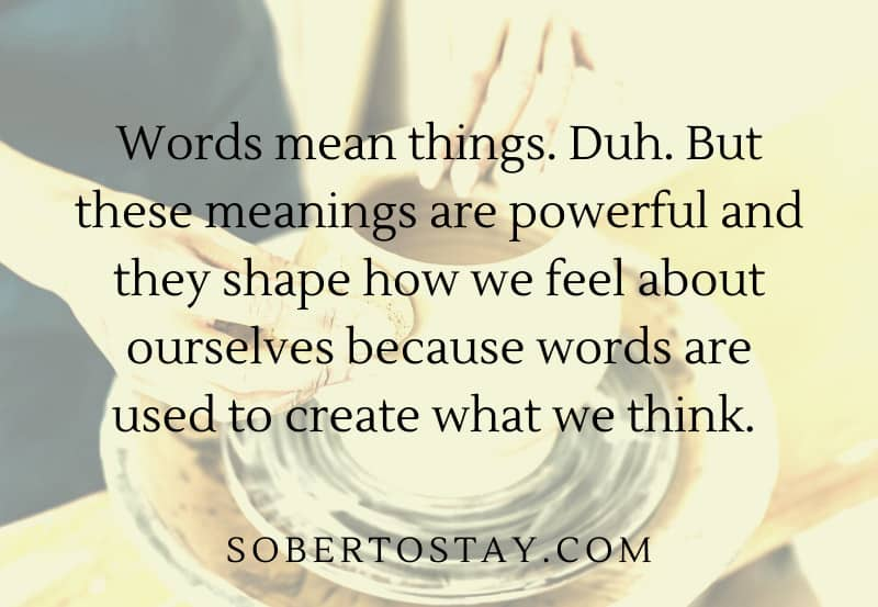 words mean things jungian spirituality